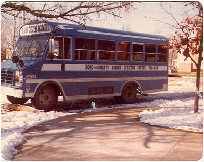 Blue Bird historic transit vehicle
